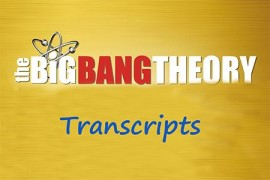 The Big Bang Theory 生活大爆炸第一季英文剧本下载